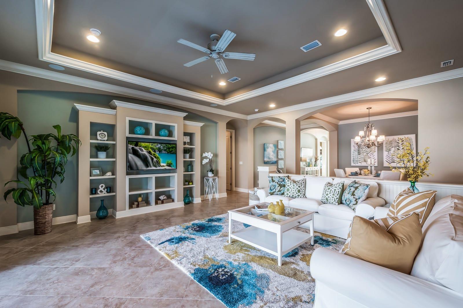 Living Room Staging 2