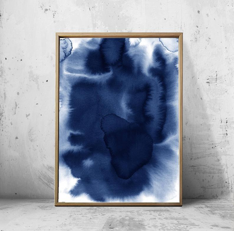 BLUE WATER WALL ART